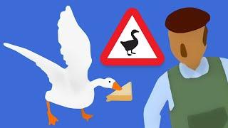 Untitled Goose Game - САМЫЙ ЛУЧШИЙ СИМУЛЯТОР ГУСЯ [#1] - Игра - Прохождение