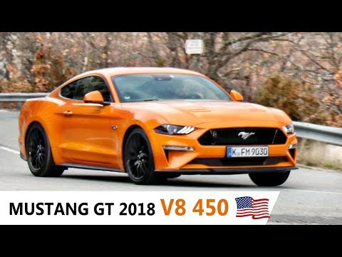 NEW Ford MUSTANG 2018, NEW SOUND EXHAUST V8 !
