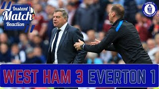 Tosun And Fans Fume At Allardyce | West Ham United 3-1 Everton