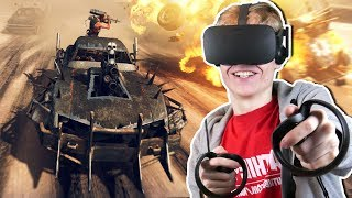 MAD MAX IN VIRTUAL REALITY!  | DIRE VR (Oculus Rift CV1 Gameplay)