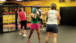 Boxing Class at Koncrete Gym in Scottsdale AZ with Mike King