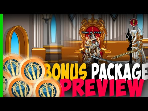 AQW - Northlands Royalty Bonus Package Preview (Ep.1)