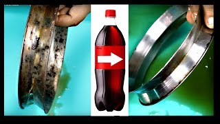 We Found Best Way To Remove Rust On Stainless Steel with Cola