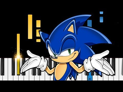 Sonic Mania Opening Theme - EASY Piano Tutorial