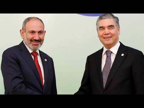 Пашинян встретился с президентами Туркменистана и Узбекистана