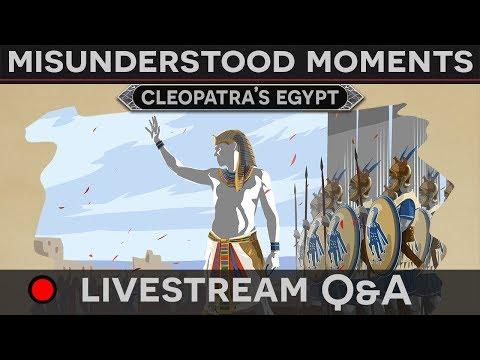 [Q&A] Misunderstood Moments in History - Cleopatra
