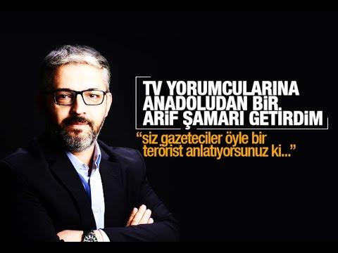 Erem Şentürk   Bak, Stüdyolardaki TV Yorumcularına Anadolu'dan Bir Arif şamarı Getirdim!