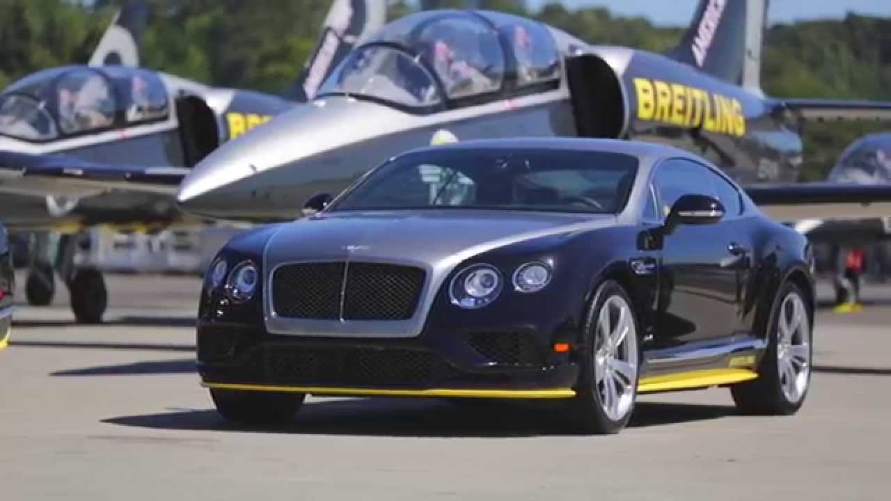Breitling by Mulliner Continental Launch - Seattle, July 2015 - YouTube