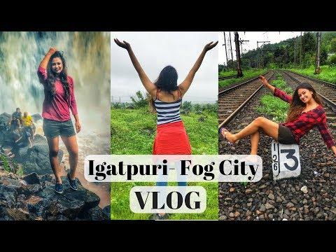 Road Trip To Igatpuri | Ashoka WaterFalls | Igatpuri-Fog City | Nick's Vlog