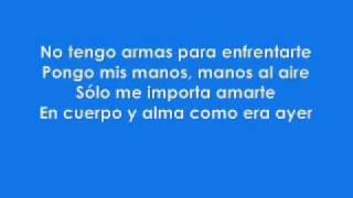 Nelly Furtado Manos Al Aire Lyrics