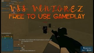 Free To Use Gameplay | Roblox - Phantom Forces - VSS VINTOREZ Montage