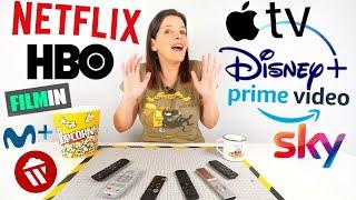¿Qué vídeo streaming es MEJOR? COMPARATIVA Netflix HBO Disney Apple Prime