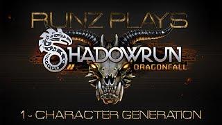 Shadowrun Returns Dragonfall: Episode 1 - Character Creation