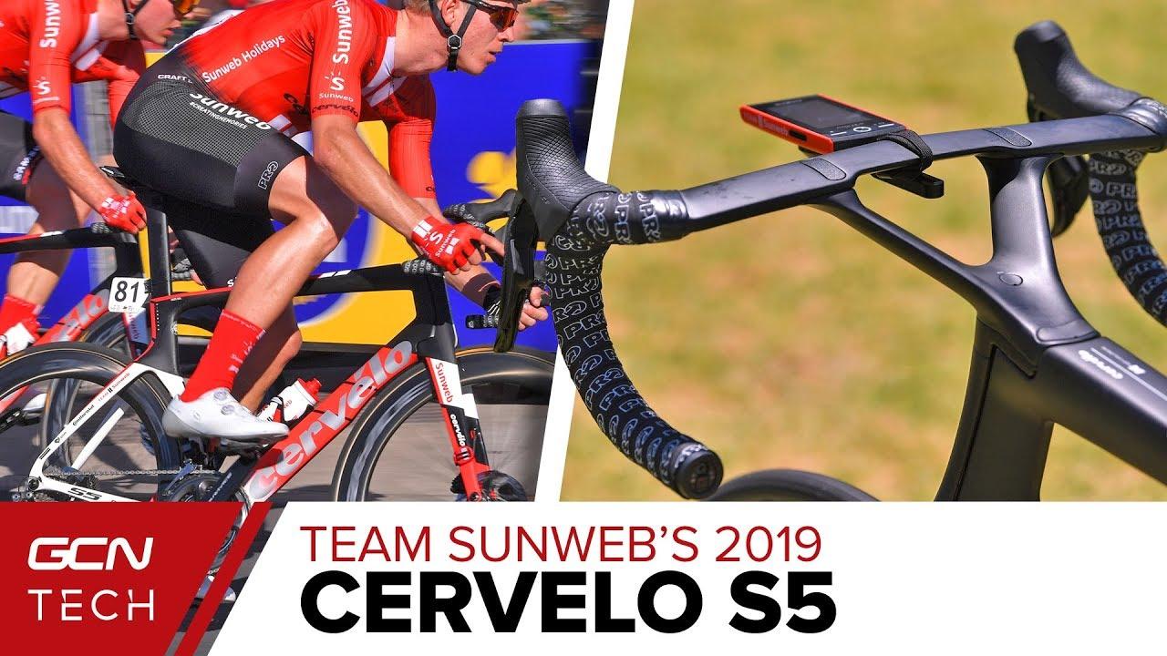 f1aaf82d6 Team Sunweb s 2019 Cervélo S5 Aero Race Bike