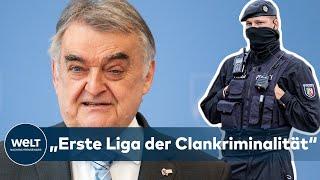 """REUL zu CLAN-RAZZIA """"Ein Schlag gegen die erste Liga der Clankriminalität"""""""