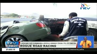Police confirm three Kenyans died in Namanga accident