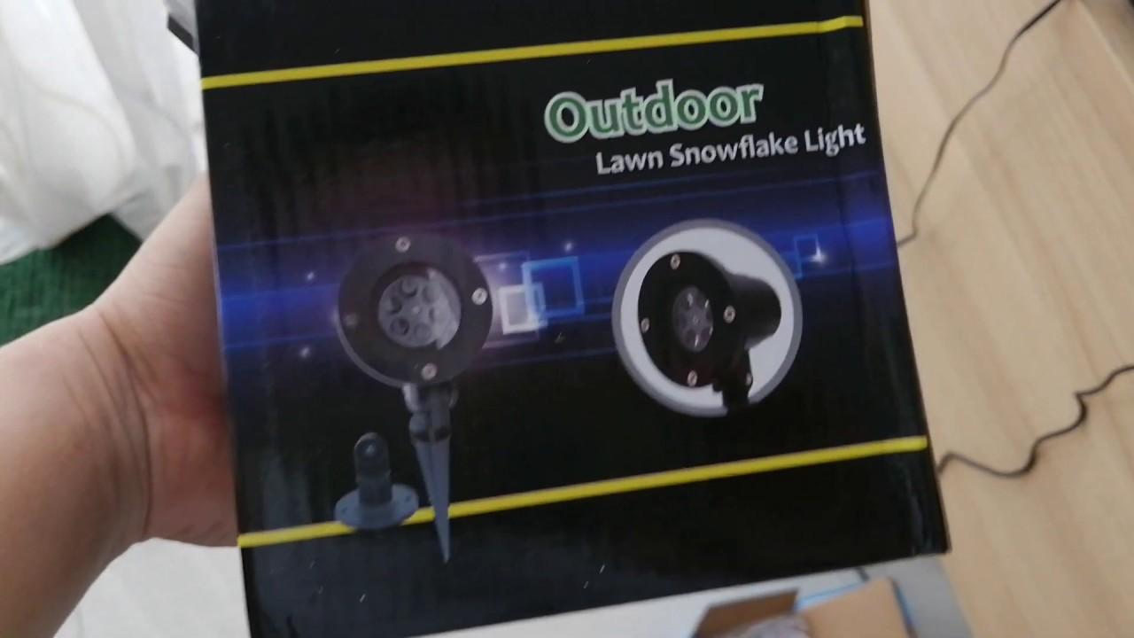 Đèn laser trang trí ngoài trời outdoor laser mini