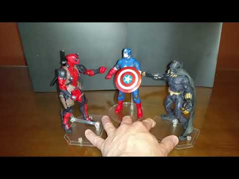 Avengers Infinity Wars Promo featuring Captain America, Black Panther, and Deadpool.