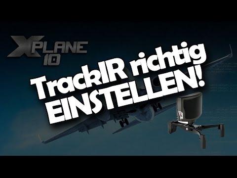 X-Plane: TrackIR mit PilotView einstellen / Limits / Sichtpunkt