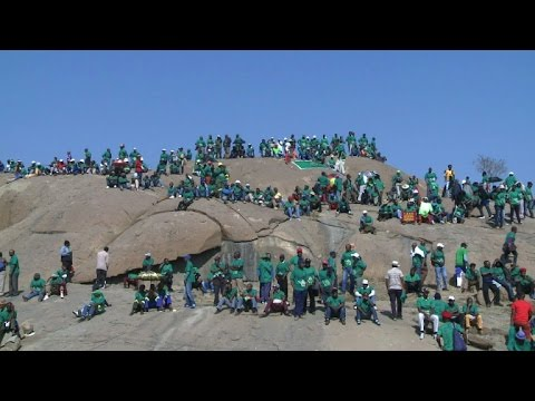 South Africa commemorates Marikana mine strike massacre