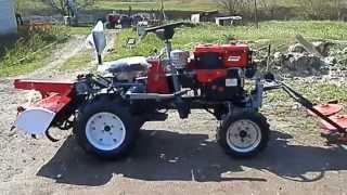 мини-трактор (мототрактор) из мотоблока Форте.(, 2014-04-23T19:01:24.000Z)