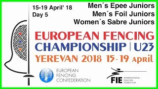 Day 05 2018 European fencing championships U23 - Green