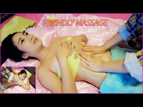 Asian Beauty Friendly Massage Aromatherapy Oil Skin Back and abdomen for Relax EP. 11-15