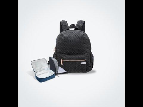 Mamaland Princeton Featherlite 2.0 Waterproof Ultra Lightweight Mommy Baby Diaper Backpack