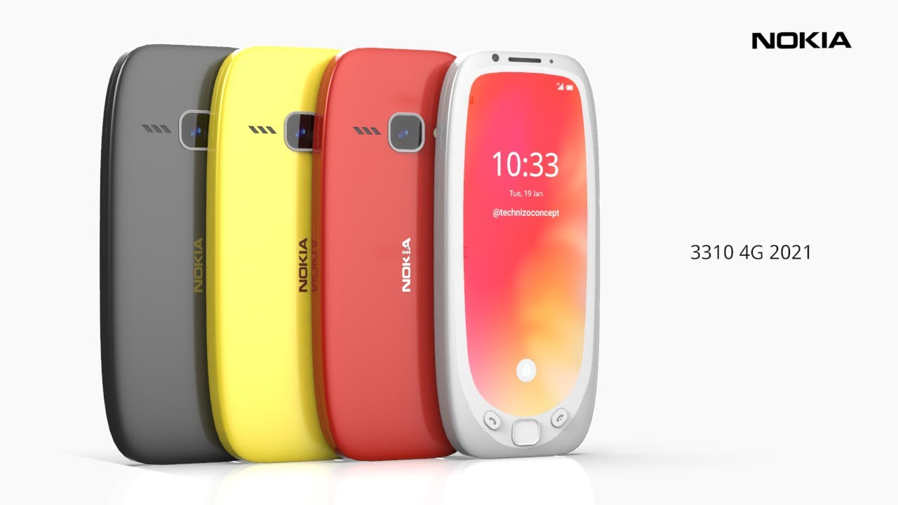 Nokia 3310 4G 2021 Trailer