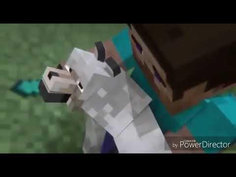 Minecraft animasyon  (Burak King : koştum hekime)