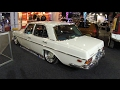 MERCEDES BENZ 280 SE W108 4,5 V8 !! WHITE COLOUR !! WALKAROUND !! LOWERED CAR !!