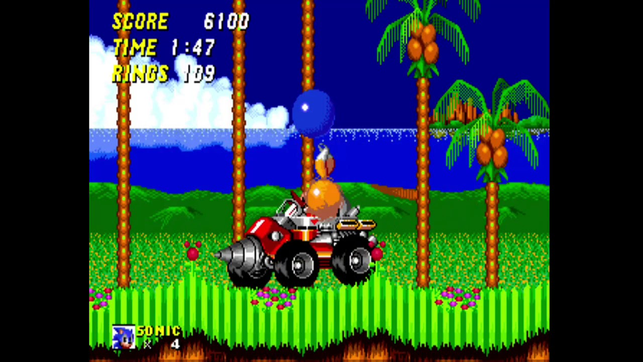 Sonic The Hedgehog 2 Genesis Emerald Hill Zone 2 Chemical Plant Zone 1 Youtube