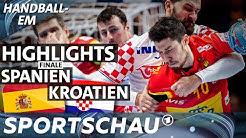 Highlights: Packendes Finale Spanien - Kroatien | Handball-EM | Sportschau