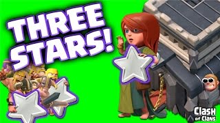 "Clash of Clans ""Town Hall 9 Strategy"" 3 Star War Wins in Clash!"