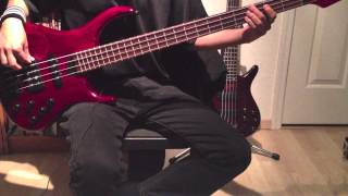 Anberlin | Paperthin Hymn [Bass Cover]