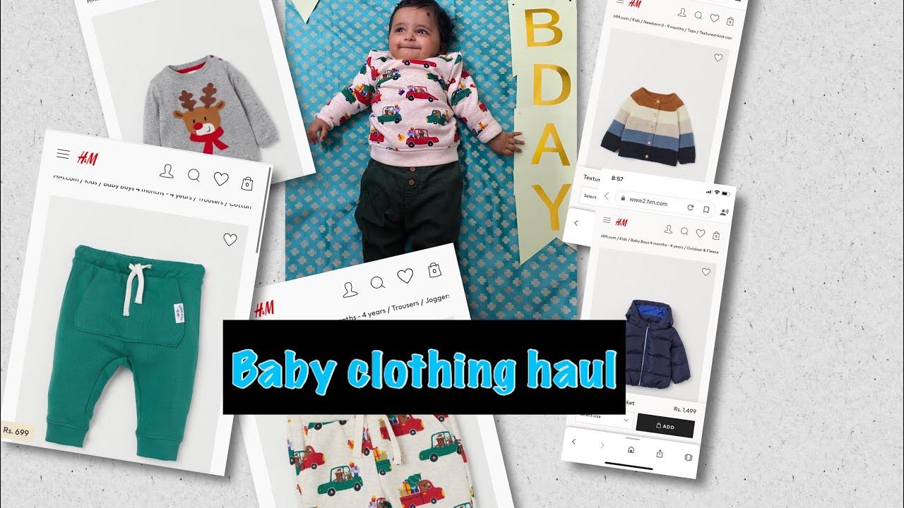 Baby clothing haul 2020| Kids winter clothing haul| Myntra haul|H&M haul| Clothing haul|