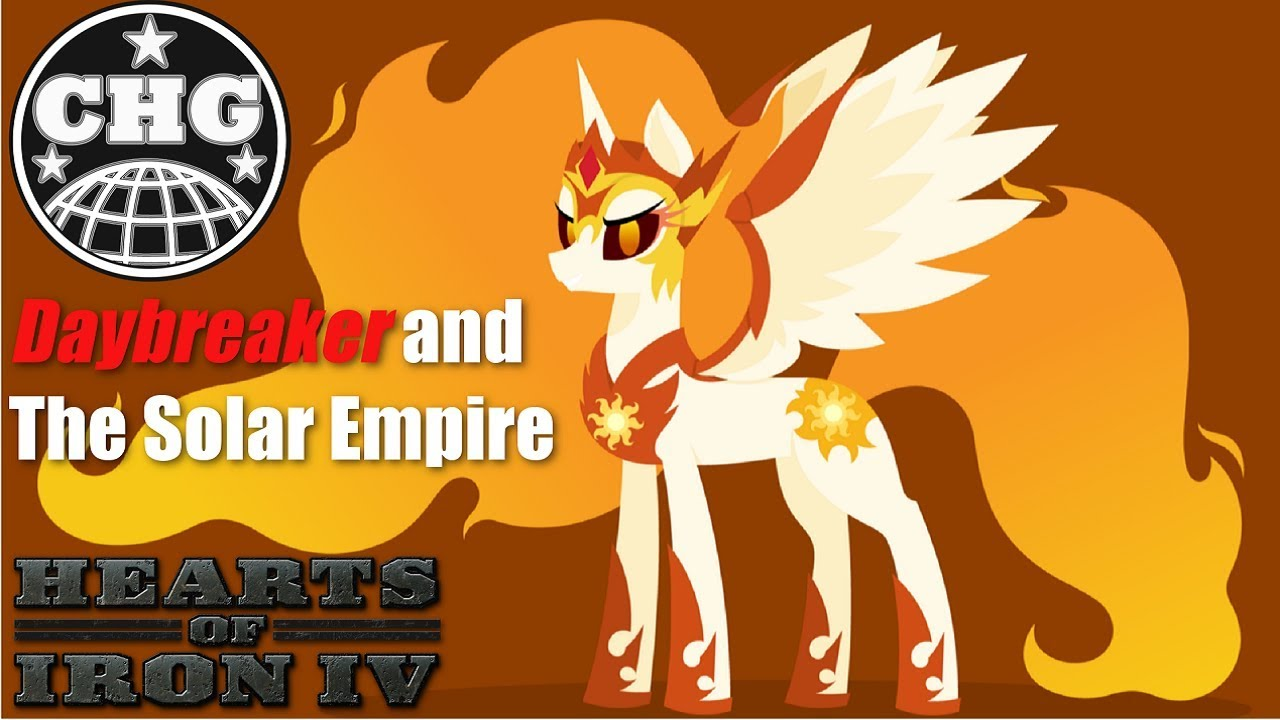 Hoi4 Equestria At War Solar Empire 1 Turning Up The Heat Youtube