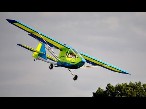 Learn to fly the Hawk Ultralight Aircraft Landings Stalls Ro