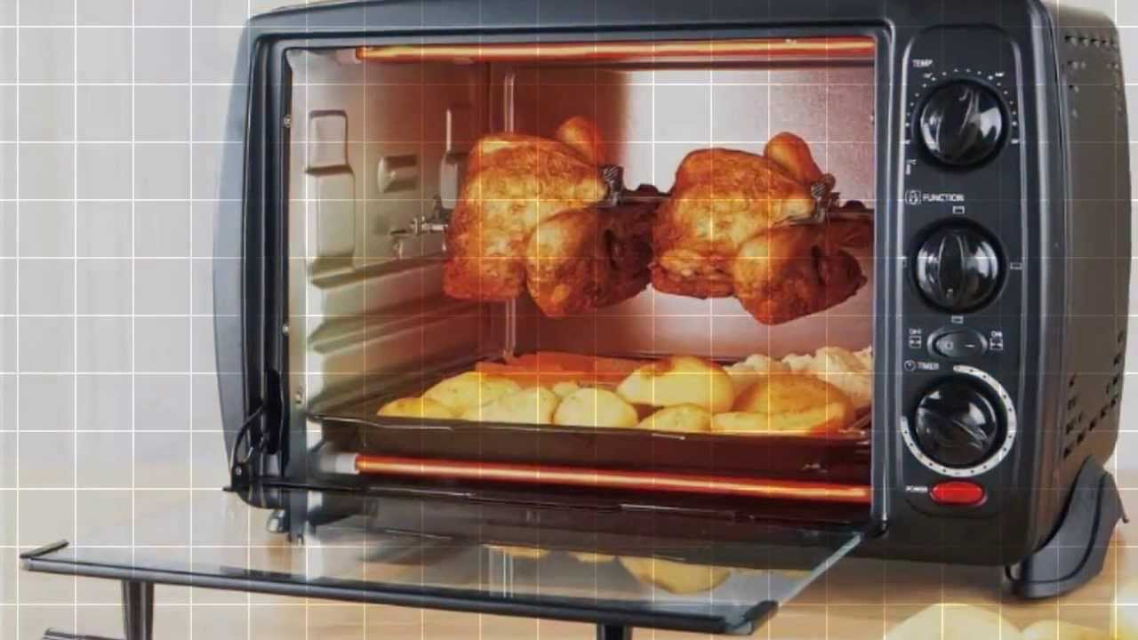 rotisserie oven youtube. Black Bedroom Furniture Sets. Home Design Ideas