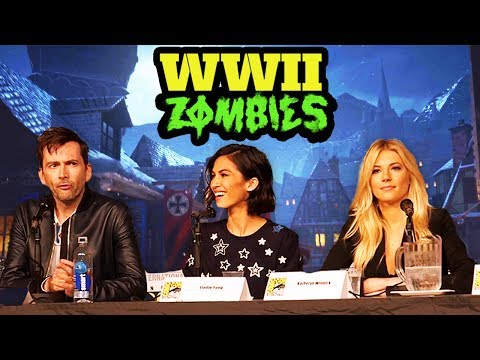 FULL WW2 ZOMBIES REVEAL PANEL - NEW IN-GAME FOOTAGE, EASTER