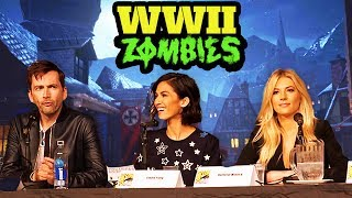 FULL WW2 ZOMBIES REVEAL PANEL - NEW IN-GAME FOOTAGE, EASTER EGG HINTS & MUCH MORE!! (COD WW2)