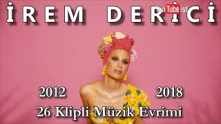🎧 İrem Derici Müzik Evrimi #5 | 2012 - 2018 Youtubeist Video