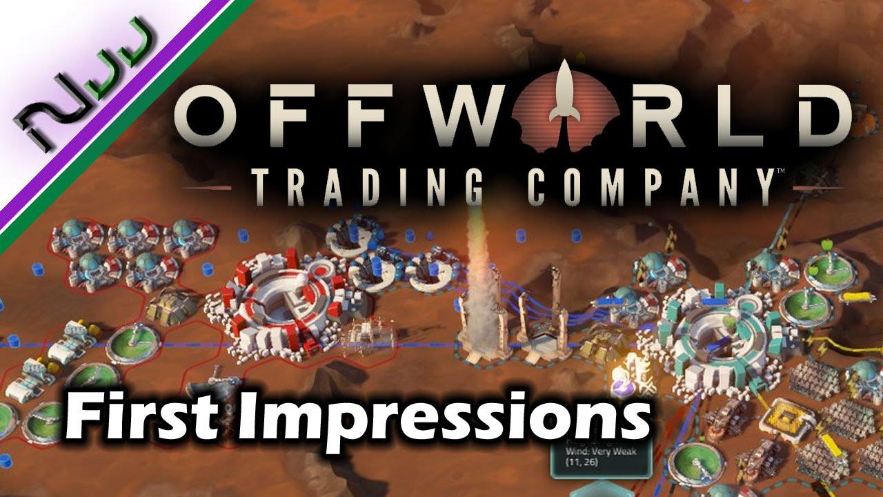Offworld trading company strategies