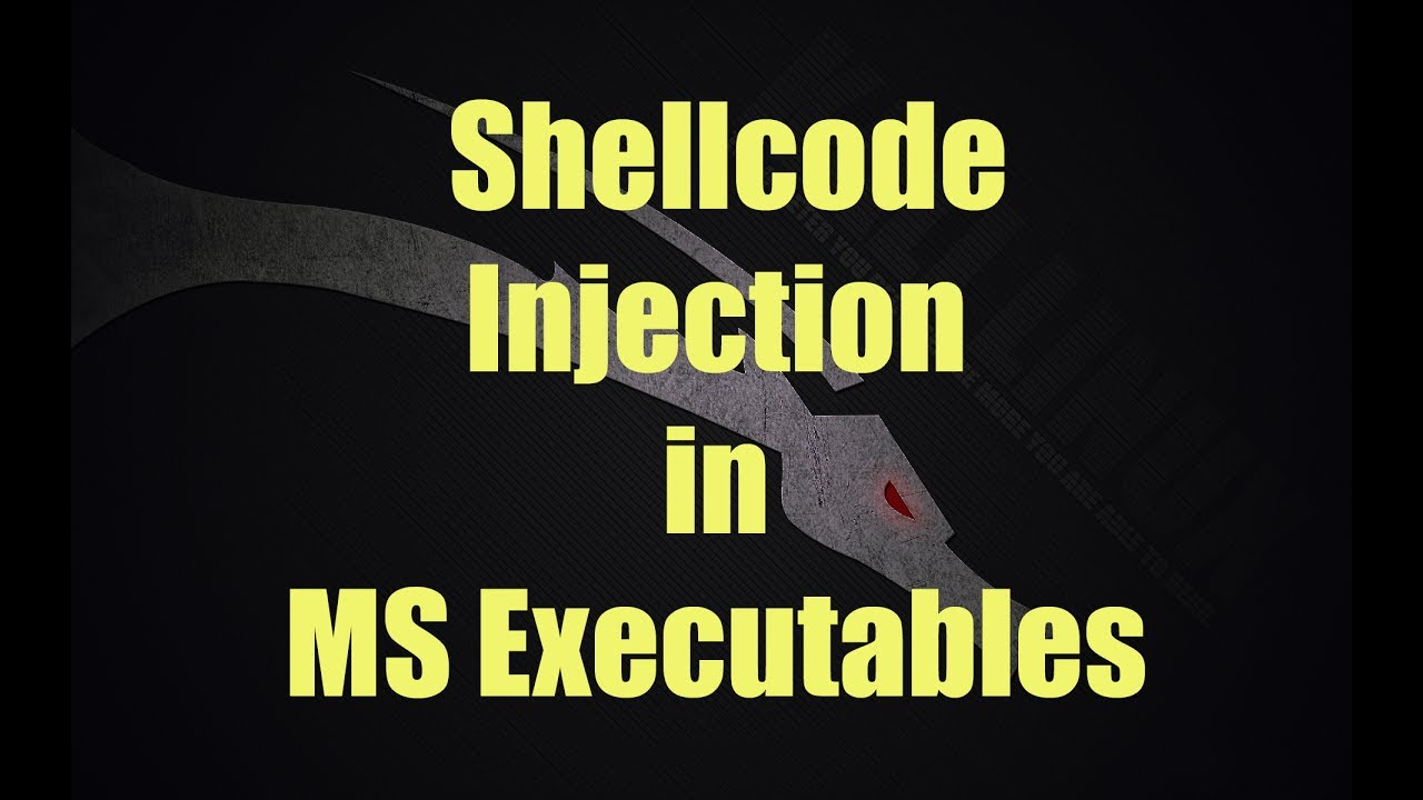 Shellcode Injection in MS executables (with Backdoor Factory)