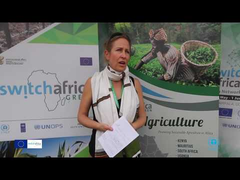 Switch Africa Green Interview - Sarah Frazee - (CEO) Conservation South Africa