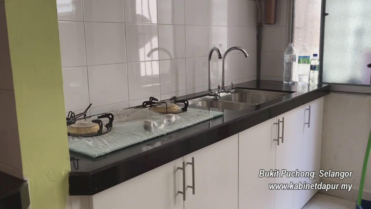 Pemasangan Kabinet Dapur Di Bukit Puchong