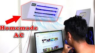 How to make MINI Split Air Conditioner at home