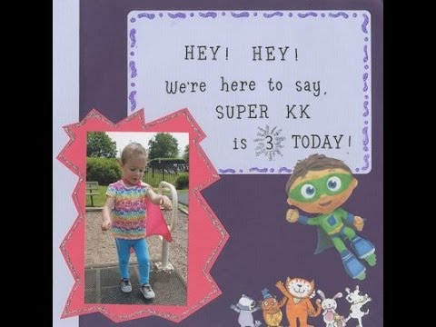 Kaylees Birthday Card on Sprout YouTube