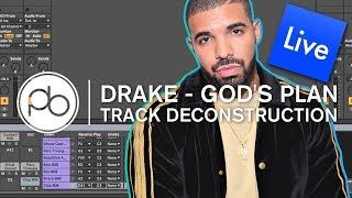 Drake - God's Plan Deconstruction in Ableton