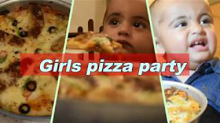 GIRLS PIZZA PARTY PAKISTANI GIRLS LATE NIGHT PIZZA PARTY VLOG  BY LET
